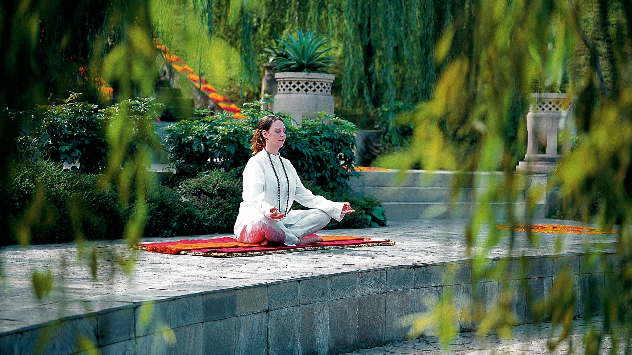 A Wellness Retreat In India At Ananda In The Himalayas Hidden